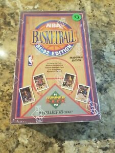 1991 92 Upper Deck***NBA BASKETBALL** Factory Sealed Box*** Inaugural Edition