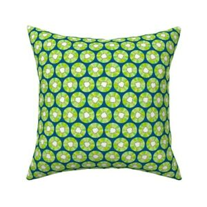 Kiwi Fruit Food Throw Pillow Cover w Optional Insert by Roostery