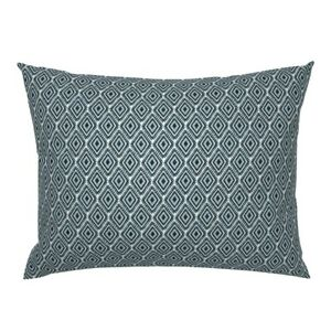Mexican Tribal Ornament Ethnic Boho Hand Drawn Indian Pillow Sham by Roostery