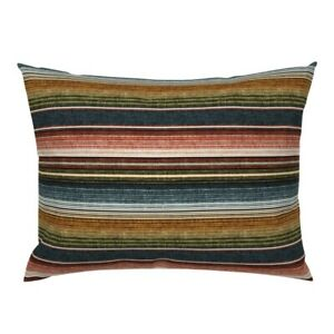 Mexican Mexican Stripes Fiesta Serape Pillow Sham by Roostery