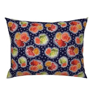 Mexican Floral Fabric8 Botanical Sketchbook Flowers Pillow Sham by Roostery