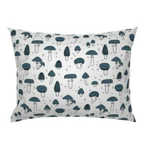 Food Cooking Kitchen Mushroom Kawaii Cute Pillow Sham by Roostery