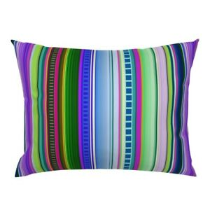 Serape Serape Serape Mexican Serape Mexican Mexico Pillow Sham by Roostery