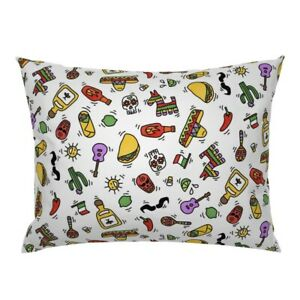Mexico Mexican Spicy Hot Sauce Food Drink Pillow Sham by Roostery
