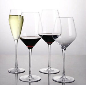 High end crystal glass red wine glass high foot household transparent lead-free