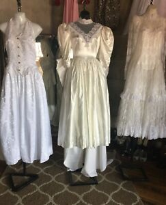 Jessica McClintock Vintage Dresses Lot Of 4 Dresses
