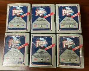 Upper Deck NFL 1991 High Number Series Factory Sealed Box Set