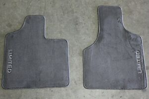 OEM Factory 2001 2003 Town Country Limited Front Floor Mats Carpet Color Taupe $38.65