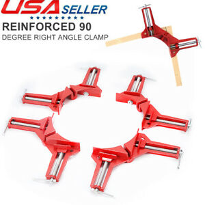 4pcs Multifunction 90 Degree Right Angle Clip Picture Frame Corner Clamp Corner $15.99