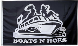 Boats and Hoes & Step Brothers flag 3x5ft banner US Seller