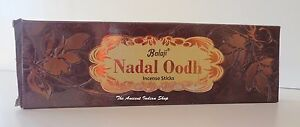 Balaji NADAL OODH OUDH Incense Sticks 50g Export Quality Agarbatti