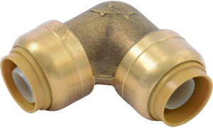 SharkBite U248LFA 90 Degree Elbow Plumbing Pipe Connector 12 In PEX Fittings   $10.02