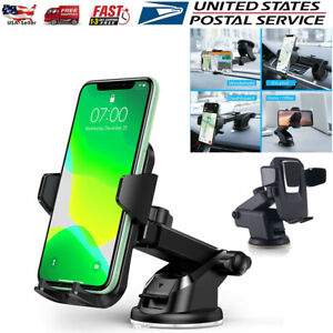 360° Mount Holder Car Windshield Stand For iPhone Samsung Mobile Cell Phone GPS