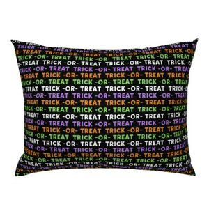 Trick Or Treat Halloween Pillow Sham by Roostery