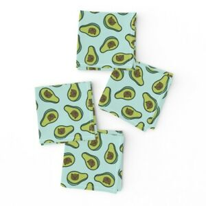 Cocktail Napkins Cats Avocado Food Cat Food Silly Cats Set of 4