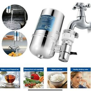 Water Purifier Tap For Kitchen Bathroom Sink Faucet Mount Filtration usa
