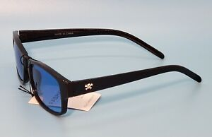 Pirate Skull Sunglasses Mens Blue Lens with Black Frame AWESOME