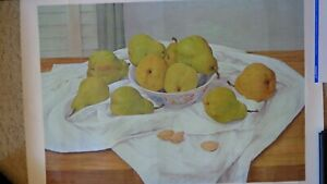 Manuel Tolegian Poster Lithograph PEARS Signed and Numbered 36 1965 $80.97