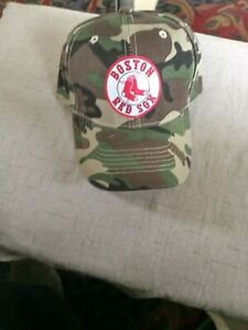 Boston Red SOX.CAMOUFLAGE  HAT ONE SIZE FITS ALL.