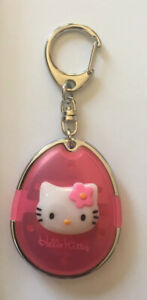 Vintage 1999 Sanrio HELLO KITTY Pink Keychain NEW RARE