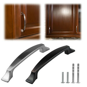 Modern Handle Bar Pull Kitchen Bathroom Cabinet Hardware Cupboard Door Closet $2.85