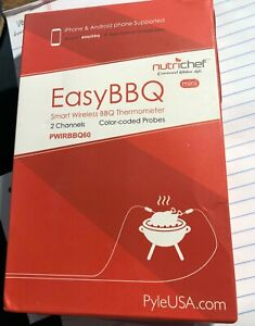 NutriChef PWIRBBQ60 - Smart Bluetooth BBQ Grill Thermometer - MISSING BACK