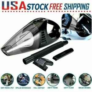 Car Vacuum Cleaner 12V For Auto Mini Hand held Wet Dry Small Portable 12V In US