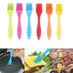 6 Pcs Silicone Kitchen Basting Brush Set Pastry Barbecue Oil Bbq Bread Grill