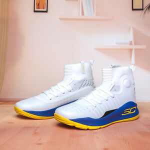 Fashion HOT Men's Under Armour Curry 4 High TRAINING Basketball Shoes Size $60.00
