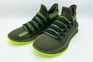 Under Armour 3021800 300 M Tag Olive Green Basketball Shoes Sneakers SZ 8 NWOT $59.99