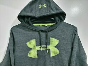 Under Armour STORM Men's Small S Dark Gray Loose Pullover Jacket Hoodie $24.00