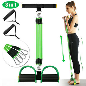 Pedal Puller Resistance Band Rope Exerciser Chest Expander Training Fitness Yoga