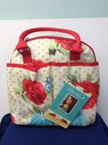The Pioneer Woman Lunch Tote with Hydration Bottle Blossom Jubilee  (S)