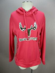 Cottonwood Canyon Size M Womens Pink RealTree Fleece Lined Hoodie 028