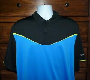 Men's Nike Golf Dri Fit Tour Performance Short Sleeve Stretch Polo Shirt XXL 2XL $24.95