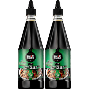 Premium Lite Soy Sauce Low Sodium - No Msg - Kosher - Real Asian Brewed - Ideal