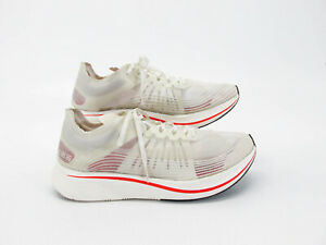Nike Men Shoe Zoom Fly SP Fast Size 12M Athletic Running Sneaker Pre Owned qz