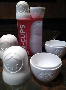 MEASURING CUPS M-CUPS by FRED NESTING MATRYOSHKA DOLLS NEW IN OPENED BOX