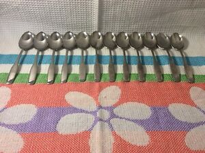 AMC Stainless Steel APOLLO 12 OVAL SOUP SPOONS-Heavy Duty-Beautiful-7 1/4