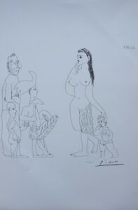 Picasso Pablo - Venus And Love (2) - Lithography Signed 1200ex $110.21