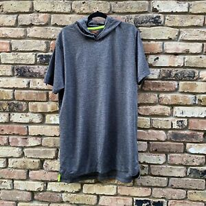 The Foundry Supply co Men's Hooded Shortsleeve Long Quick Dri Shirt Size LT $15.00