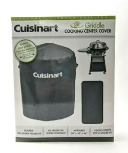 Cuisinart 360° Griddle Cooking Center Cover CGWM-003 Black Outdoor Grill Cover
