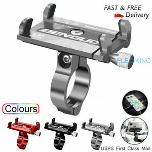 Aluminum Motorcycle Bike Bicycle Holder Mount Handlebar For Cell Phone GPS US $7.99