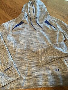 Under Armour Storm Womens Size XL Semi Fitted Long Sleeve Athletic Hoodie $21.99
