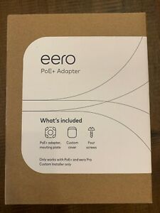 Eero PoE Adapter & Mounting Plate 2nd Generation