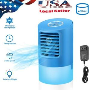 Vosarea Air Conditioner Fan Easy to Use Desktop Humidifier Cooling Air for Home