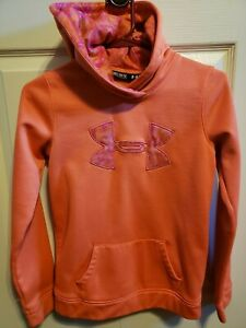 Under Armor girls hoodie youth medium Camo accents $2.70