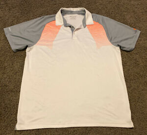 UNDER ARMOUR Heat Gear ColdBlack Mens White S S Polo Shirt Loose Adult Size XXL $10.49
