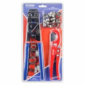iCrimp PEX Cinch Tool with Removing function for 3 8quot; 1quot;Stainless Steel Clamps $32.99