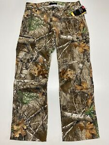 Under Armour Real Tree Edge Field Ops Camo Pants 1313212 991 Men's Size 36x32 $52.99